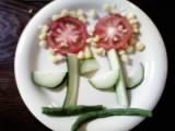 野菜の花畑