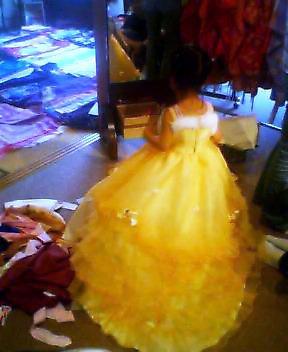 ドレス・その後
